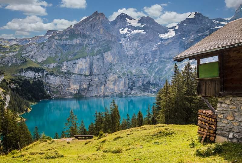 Fotobox mieten Greenscreen Hintergruende Berge
