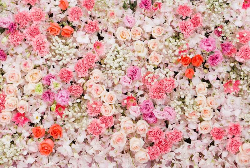 Fotobox mieten Greenscreen Hintergruende Flowers